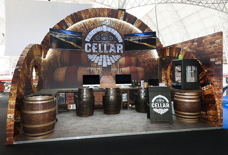 Reflex_Cellar stand_London Wine Fair 2016_web