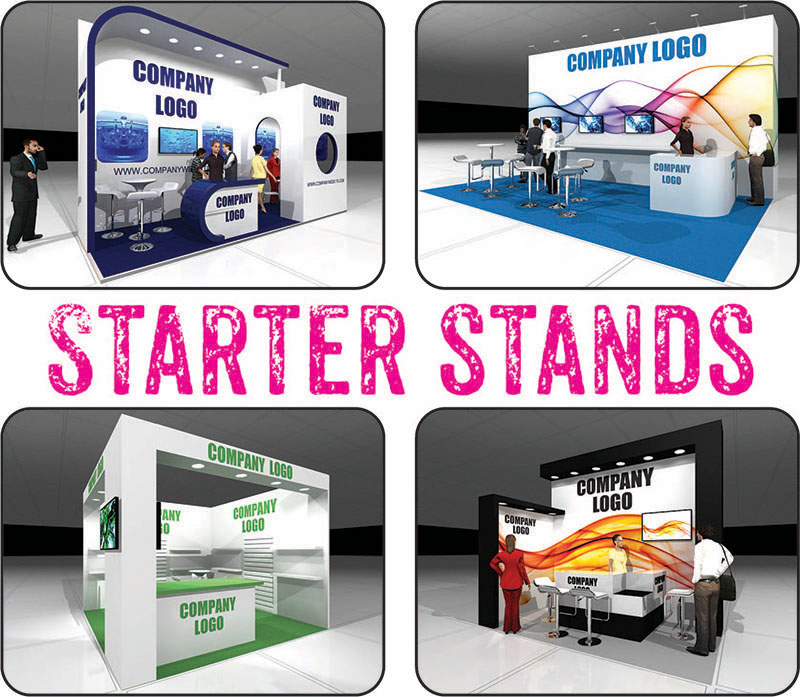 First time custom build exhibition stands